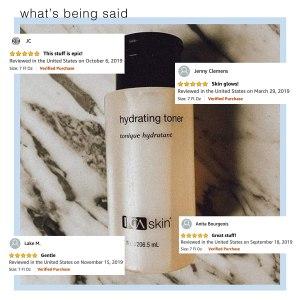 PCA skin hydrating toner reviews