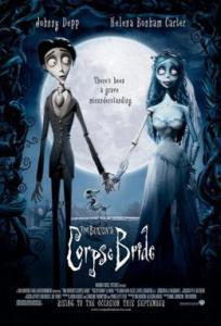 Corpse Bride Tim Burton movie cover