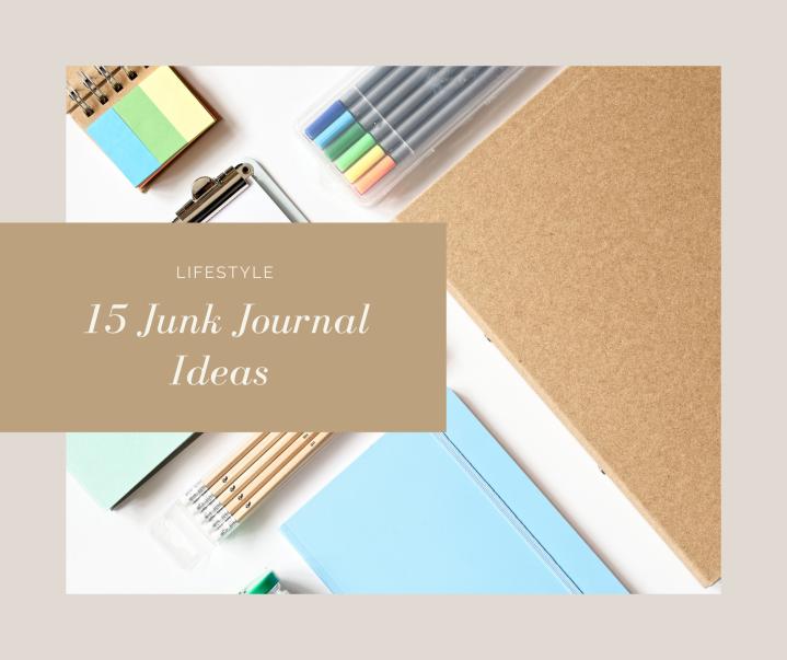 15 Junk Journal SpreadIdea's
