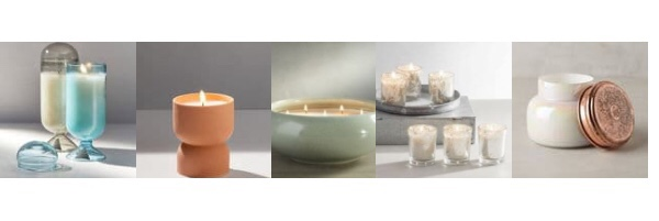 trending candles for the home