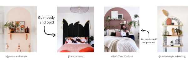 color blocking walls home decor inspiration