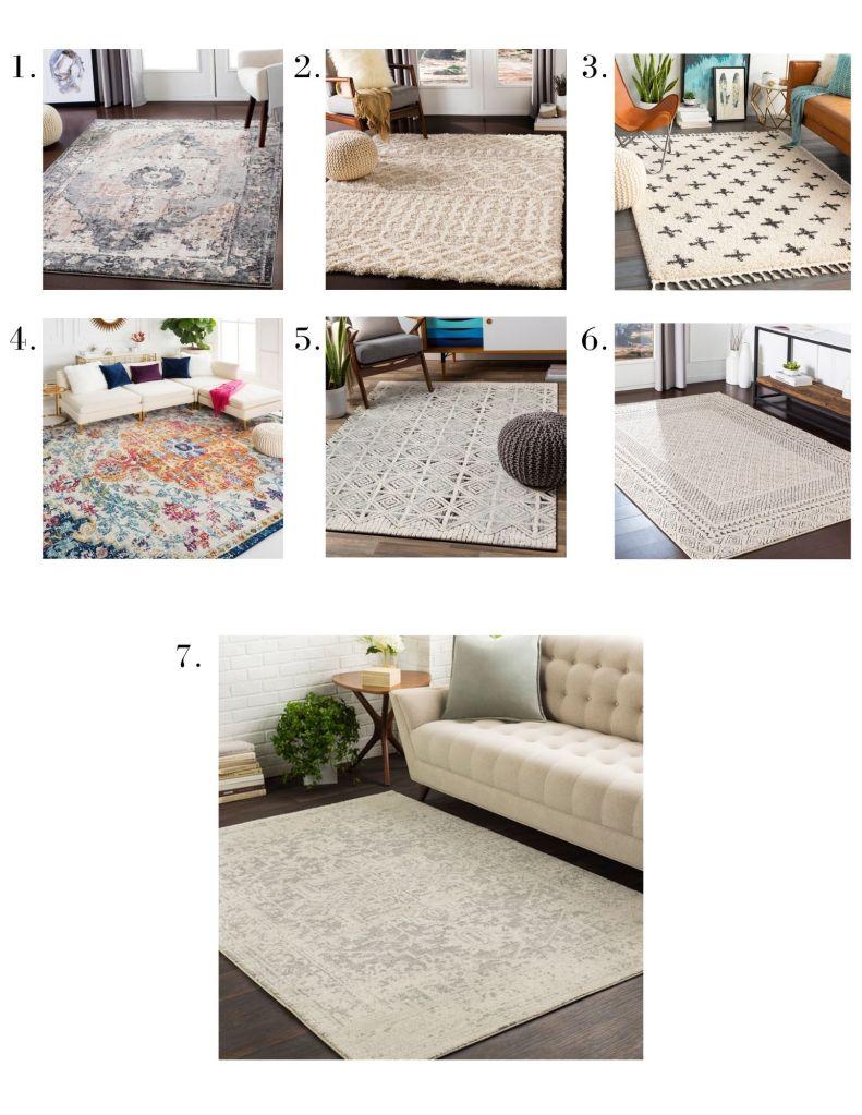 boutique area rug sale 60% off