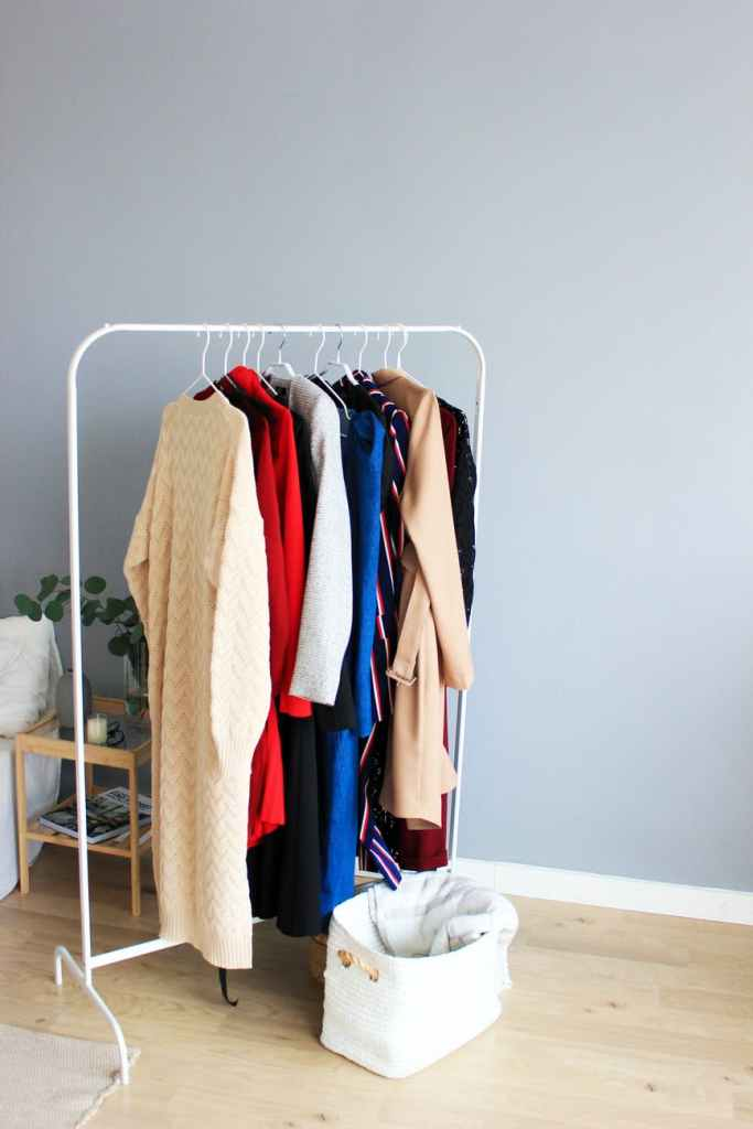 closet clear-out, wardrobe refresh