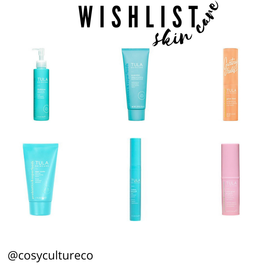 skin care wish list