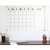 acrylic calendar for office