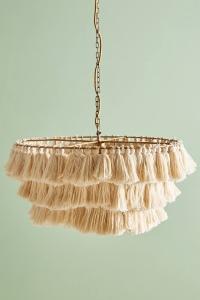 tasseled chandelier