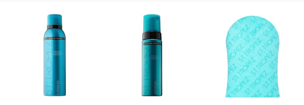 St. Tropez self tan express bronzing mousse and mist
