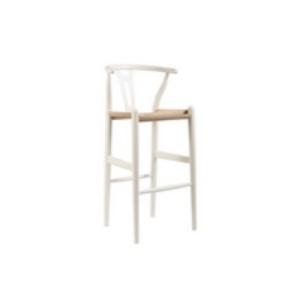Wishbone stool wood Y stool