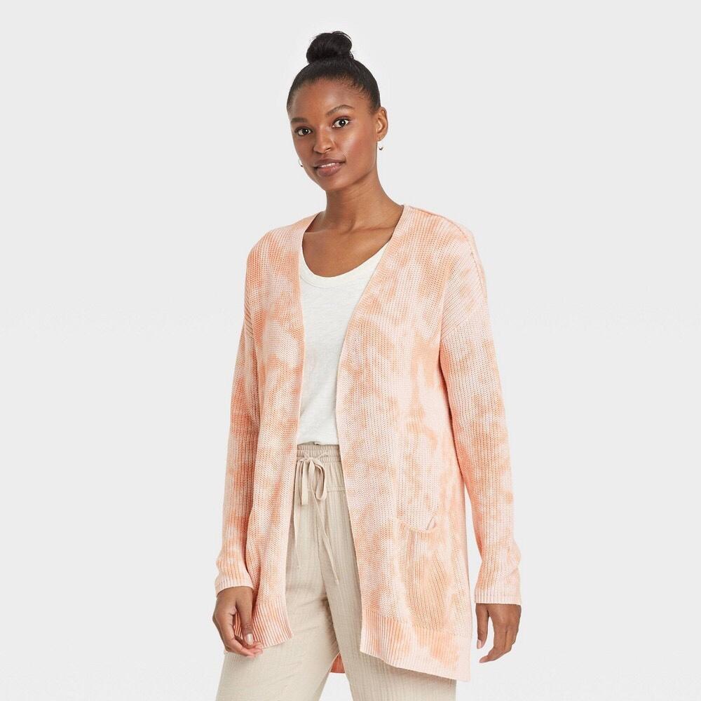 Target womens tie dye cardigan