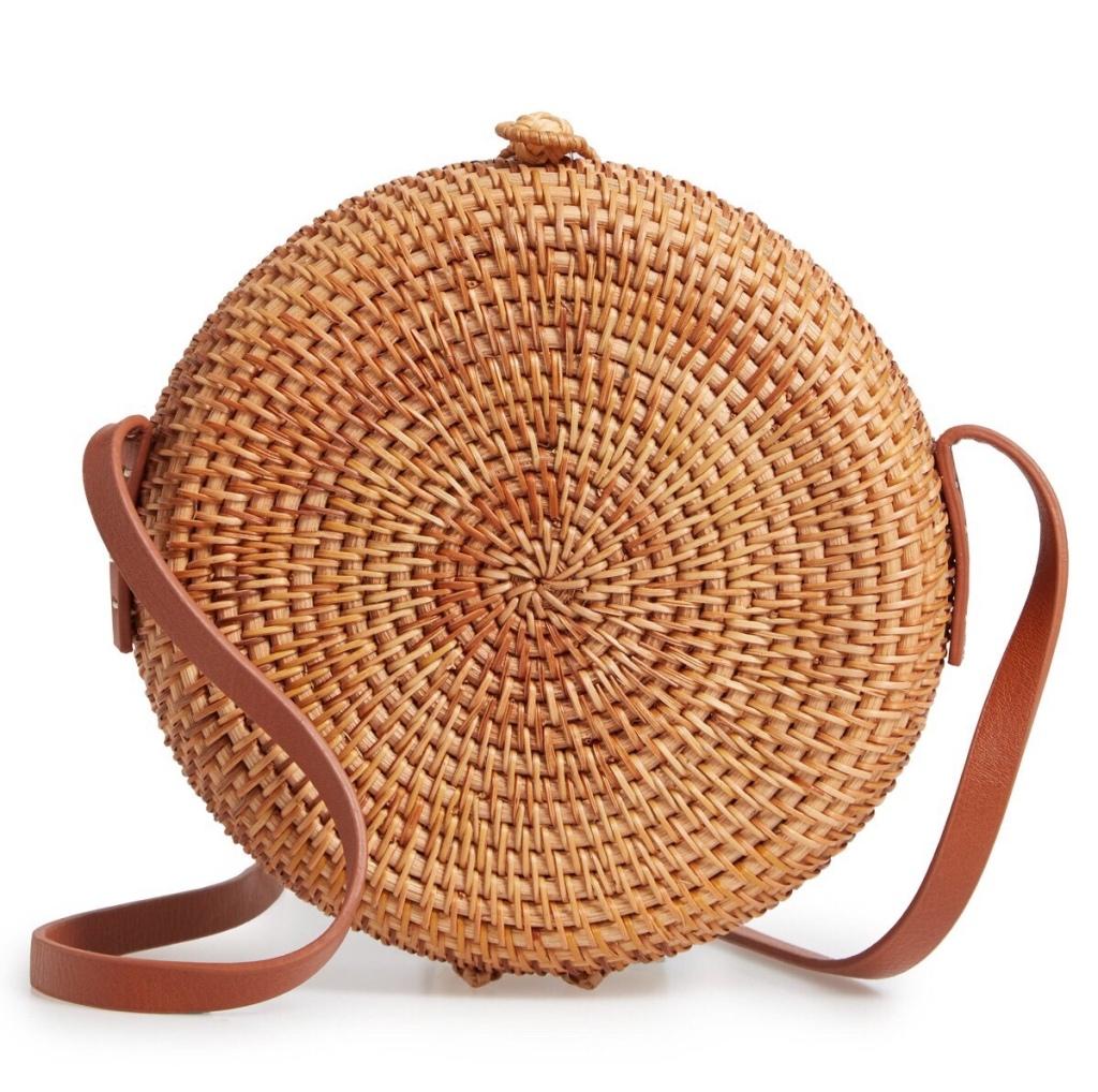 Wicker purse