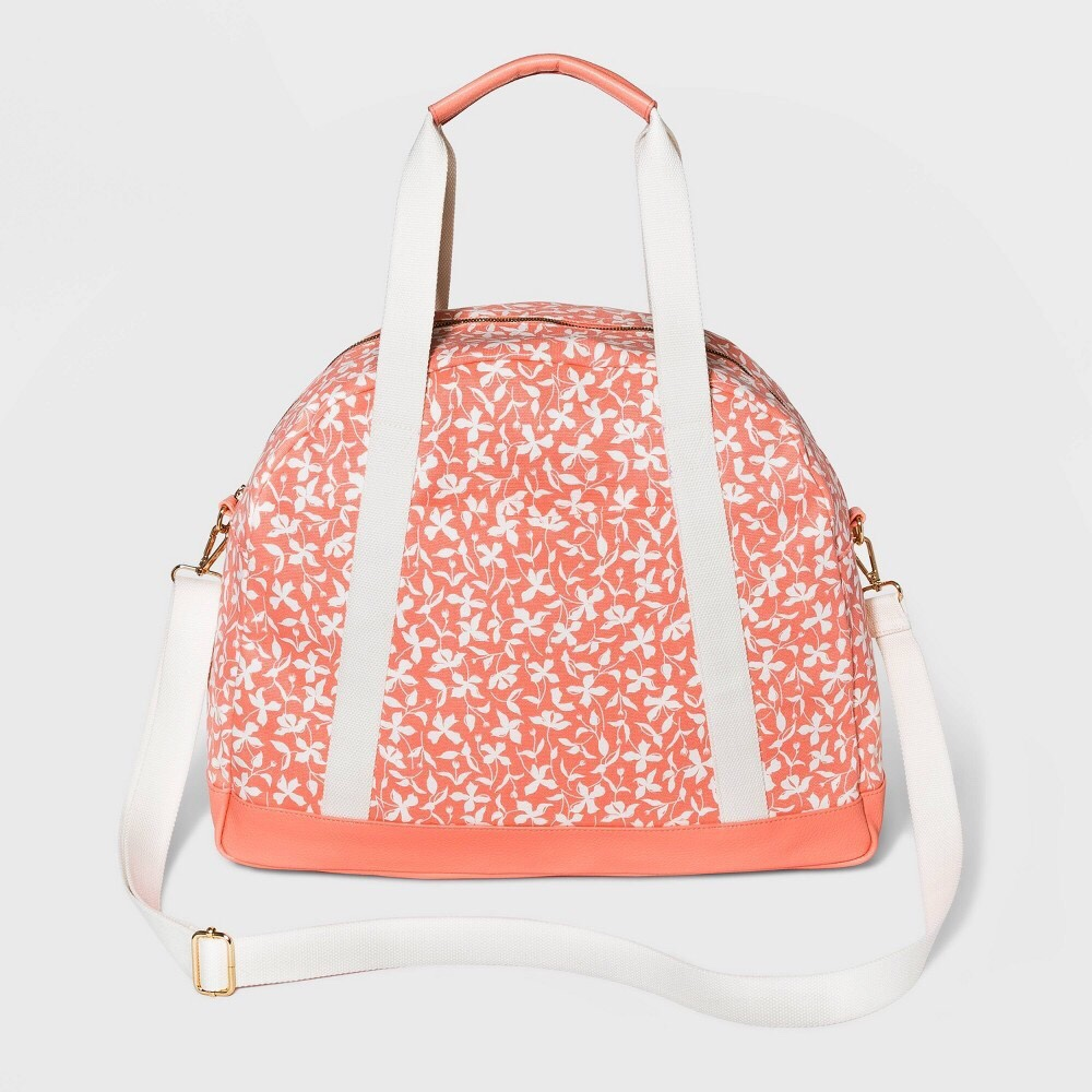 Pink floral weekender bag by A New Day sold by Target