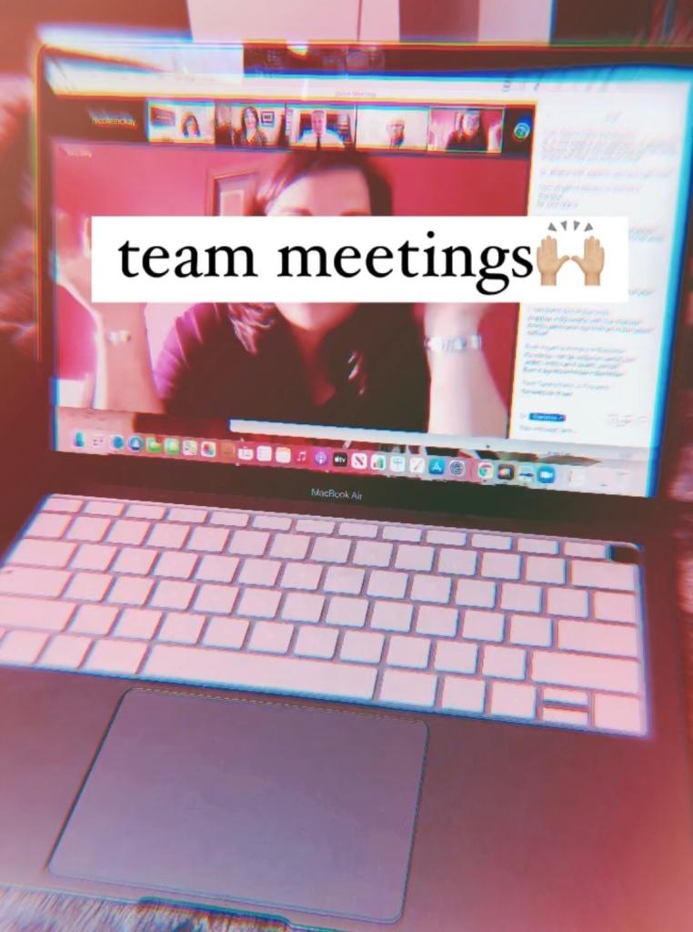 Team zoom meetings