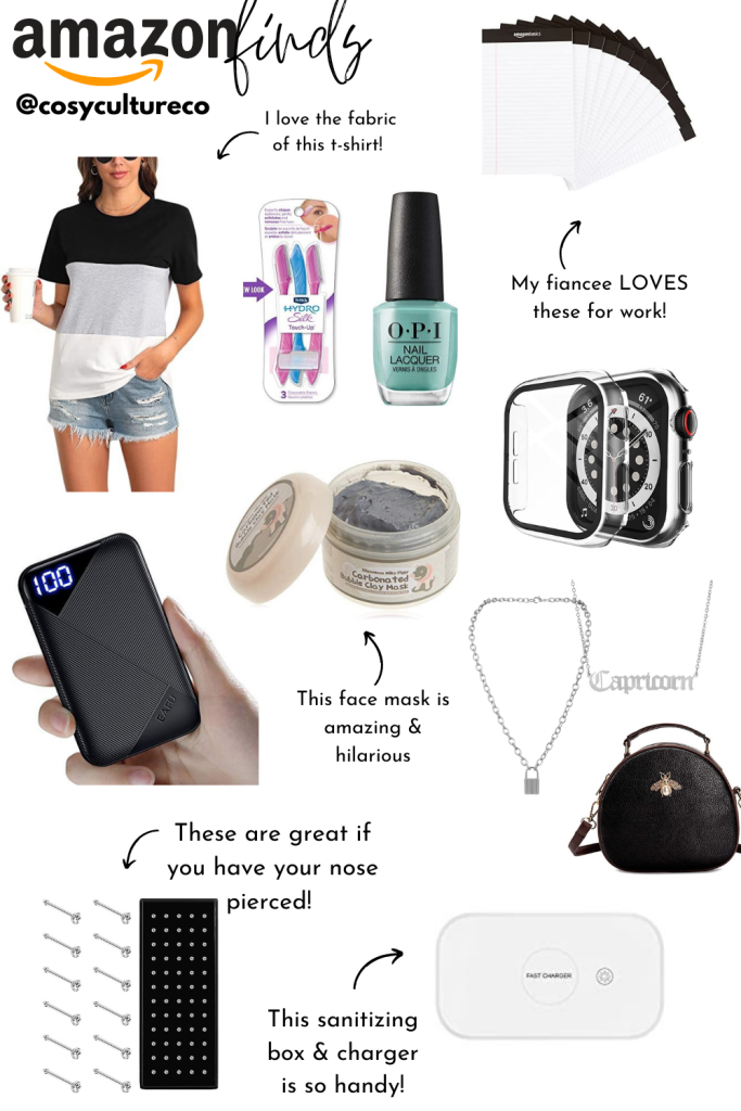 Latest amazon finds and buys by cosy culture co